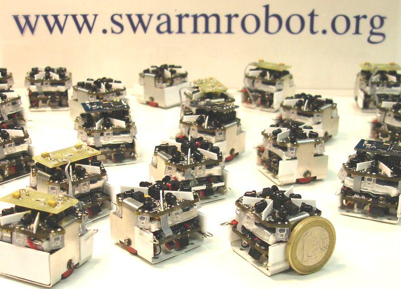 Swarmrobot Open Source Micro Robotic Project